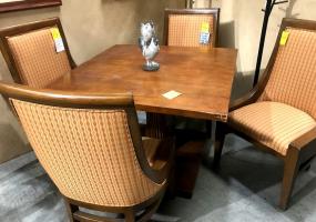 5-PC-Table-SEt-Orange-Chair