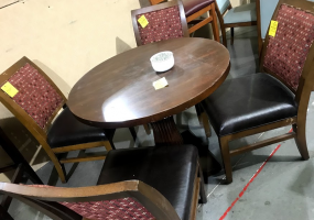 5-PC-Table-Set-Dark-Wood