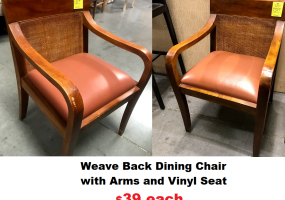 Dining-Chair-Vinyl-Seat-Weave-Back