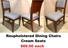 Reupholstered-Cream-Dining-Chair