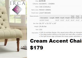 Cream-Accent-Chair