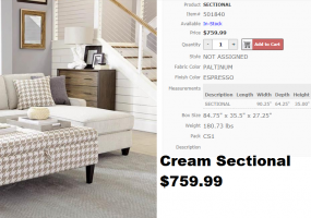 Cream-Sectional