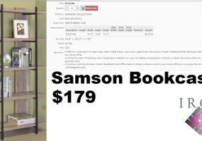 Samson-Bookcase