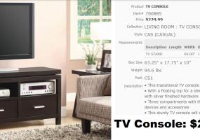 TV-Console
