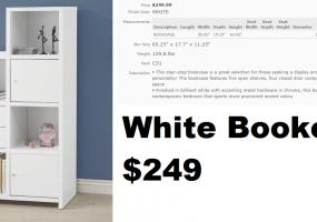 White-Bookcase
