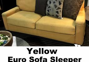 Sofa-Sleeper-Yellow